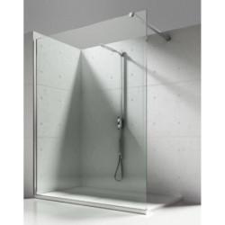 8mm Walk in Duschwand NANO Echtglas Glas Dusche Duschkabine Duschabtrennung 80cm - ECO80 - 0