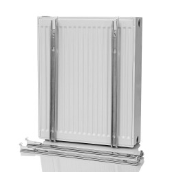 Radiator holder attachment wall consoles 600mm - BLR322 - 1