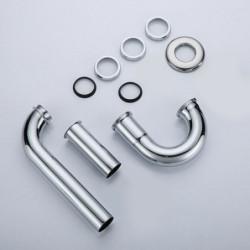 "Aloni Siphon S-shape brass chromed 1 1/4 ""25 cm - TM95600 - 5"