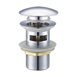 """Aloni Pusher chrome with drain valve 1 1/4 """" - TM95605 - 0"""
