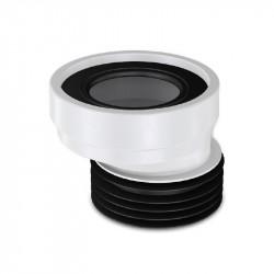 WC Anschlußstutzen Exzentrischer Anschluss Abfluss Rohr Versatz Stutzen ø90 20mm - 1020 - 0
