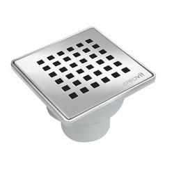 Floor drain stainless steel 150x150mm yard terrace shower bathroom drain DN 50 - YS.FD256A - 0