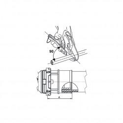 Binding PressFitting Angle 90 ° with IG 20 x 3 / 4F - BLR06 - 2