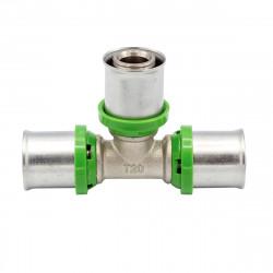 Pressfitting T-Stück 20x20 Aluverbundrohr Mehrschichtverbundrohr Rohr NEU - BLR18 - 0