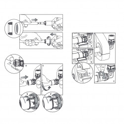 Binding Pressfitting Tee 20 x 20 - BLR18 - 6
