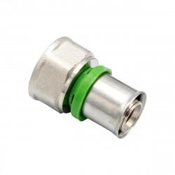 Pressfitting Übergang IG 20x3/4F Aluverbundrohr Mehrschichtverbundrohr Rohr - BLR45 - 0