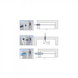 """Binding PressFitting Wall Angle 16 x 1/2 """"IG x 16 - BLR61 - 3"""