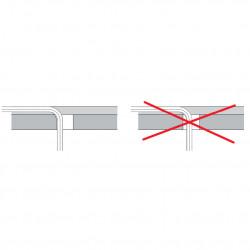 """Binding PressFitting Wall Angle 16 x 1/2 """"IG x 16 - BLR61 - 7"""