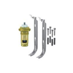 Universalheizkörper Kompakt Ventilheizkörper 300x800 T22 & Halter & Ventil NEU - ST-E22300800 - 2