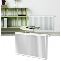 Belrad Type 22 Universal radiator valve radiators Center connection with 6 connections 300 x 2200 (HXB) -2160W - ST-E223002200 - 1