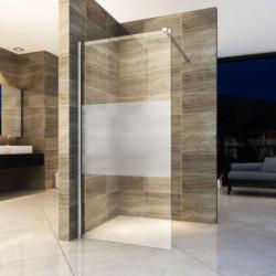 Aloni Eco Walk- In Shower Wall Half Matt 8 mm (BXH) 800 x 2000 mm - ECOF80 - 1