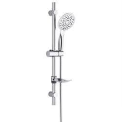 Duschstangenset Kopfbrause slim mit 3 Stufen Duschset Brausestangenset - TM51075 - 0