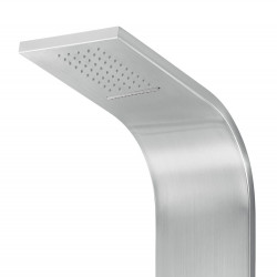 Aloni shower panel with hand shower and thermostat chrome - ZLC101 - 1