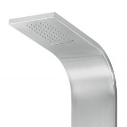 Duschpaneel Duschsäule 5 Funktionen mit Thermostatventil chrom 160x20x6,5 cm - ZLC101 - 1