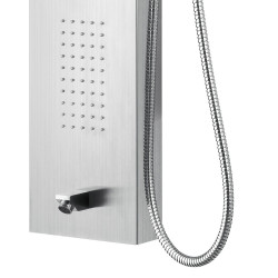 Aloni shower panel with hand shower and thermostat chrome - ZLC101 - 4