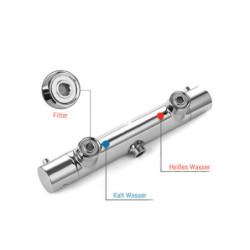 Thermostat Sink Faucet Mixer Tap Shower Bath Wasserspar-Funktion Aloni - TM22050 - 2