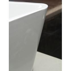 Aloni quadro freestanding bathtub acrylic white square 180 x 80 cm - FB6102 - 5