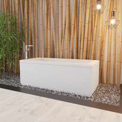 Aloni Acryl-Badewanne Weiß (TxBxH) 160 x 70 x 60 cm - V470 - 2