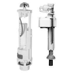 Universal Füllventil Ventil für handelsübliche WC-Spülkasten 3/6 L - TM24993 - 0