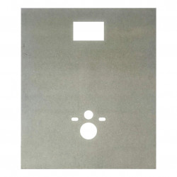 MDF Platte Hänge WC 1,2 m x 1 m x 18 mm - 5404021907 - 0