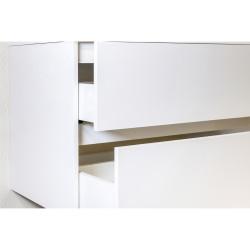 Hayat Bathroom Base cabinet 80 cm oak + washbasin - KEY3480-80 - 2