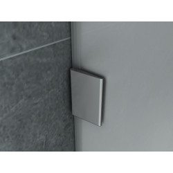 Aloni Urinal Glass Dividing Screen Shame Wall Milk Glass 8 mm (HXB) 900 x 400 mm - CR-W001 - 2