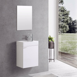 Aloni Elanor bathroom furniture complete set white - MF-40LBYZ - 0
