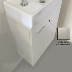 Aloni Elanor bathroom furniture complete set white - MF-40LBYZ - 1