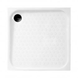 Aloni shower tray shower tray square (BXBxH) 90 x 90 x 18 cm white - TK815 - 1