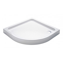 Shower tray acrylic bathtub flat acrylic quarter circle 100 100 15 - TO818 - 1