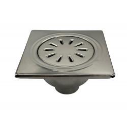 Floor drain stainless steel 150x150mm yard terrace shower bathroom drain DN 50 - YS.FS156A - 1