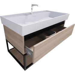 Sharp Badezimmer Unterschrank 100 cm - SHP100.07 - 0