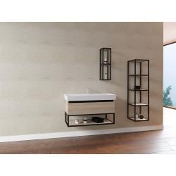 Sharp bathroom cabinet 80 cm - SHP080.07 - 1