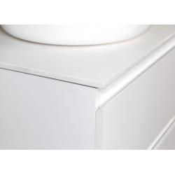 Sally bathroom base cabinet 120cm white matt - SLY120.01A - 1