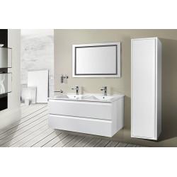 Sally bathroom base cabinet 120cm white matt - SLY120.01A - 2