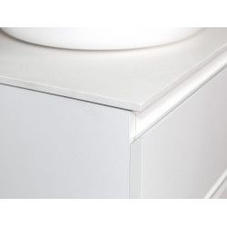 Sally bathroom base cabinet 60cm white matt - SLY060.01A - 2