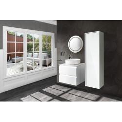 Sally bathroom base cabinet 60cm white matt - SLY060.01A - 3