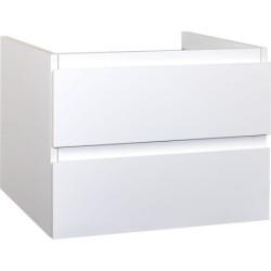 Sally Bathroom Base cabinet 80 cm white high gloss - SLY080.02A - 0