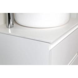 Sally Bathroom Base cabinet 80 cm white high gloss - SLY080.02A - 1