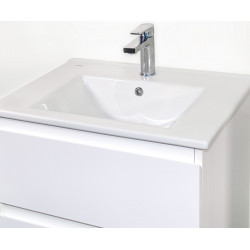 Sally Bathroom Base cabinet 80 cm white high gloss - SLY080.02A - 3