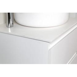 Sally bathroom cabinet 100cm white high gloss - SLY100.02A - 1