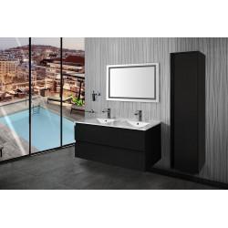 Sally bathroom base cabinet 120cm black matt - SLY120.06A - 3