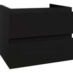 Sally bathroom cabinet 60 cm black matt - SLY060.06A - 0