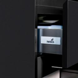 Sally bathroom cabinet 60 cm black matt - SLY060.06A - 1