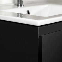 Sally bathroom cabinet 60 cm black matt - SLY060.06A - 2