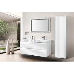 Sally Bathroom Base cabinet 120cm white high gloss - SLY120.02A - 2