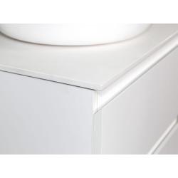 Sally Badezimmer Unterschrank 100 cm Weiß matt - SLY100.01A - 2