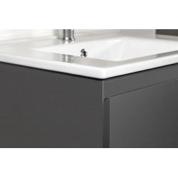 Sally bathroom cabinet 60 cm gray high gloss - SLY060.03A - 2