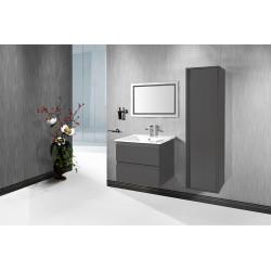 Sally bathroom cabinet 60 cm gray high gloss - SLY060.03A - 3