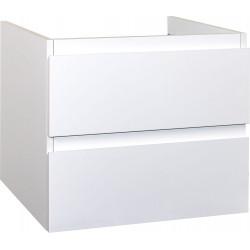 Sally Badezimmer Unterschrank 60cm weiß glänzend - SLY060.02A - 1